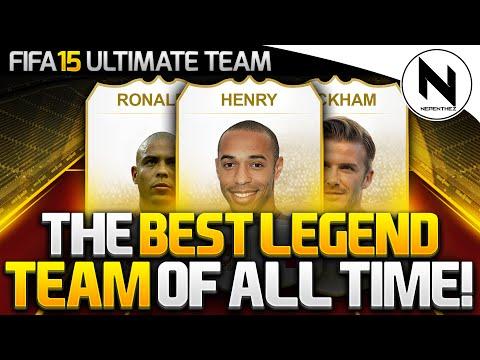 THE BEST LEGEND TEAM EVER!! - FIFA 15 Ultimate Team