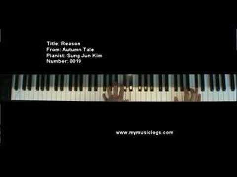 Reason - Autumn Tales - Korean - Piano