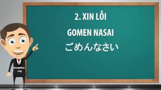 Cách Nói Xin Lỗi Trong Tiếng Nhật !