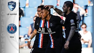 Le Havre 0-9 Paris Saint-Germain - HIGHLIGHTS & GOALS - 7/12/2020