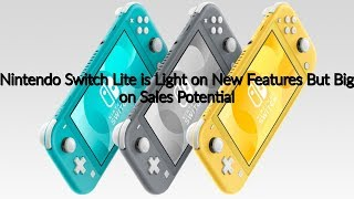 Nintendo Switch Lite Reaction | The Pros & Cons of the Nintendo Switch Revision