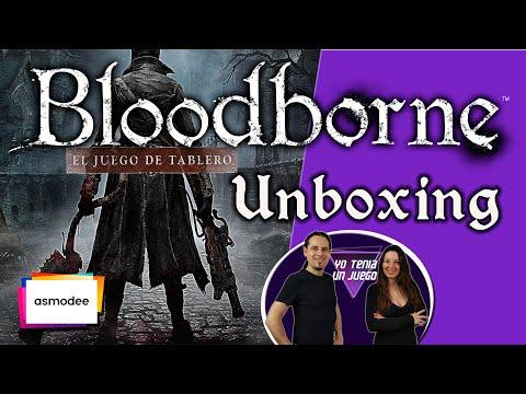 BLOODBORNE   Juego de Mesa   UNBOXING   Español
