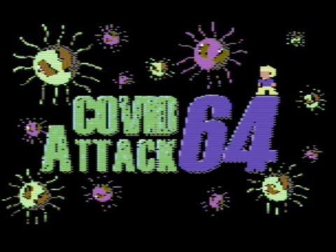 RETROJuegos Homebrew - Covid Attack 64 © 2020 Kimono - Commodore 64