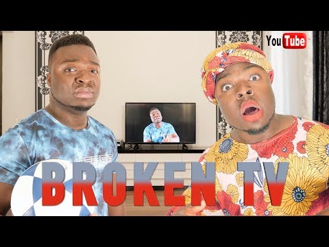 AFRICAN HOME: BROKEN TV