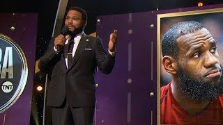 Anthony Anderson Opens the NBA Awards Ceremony 2018