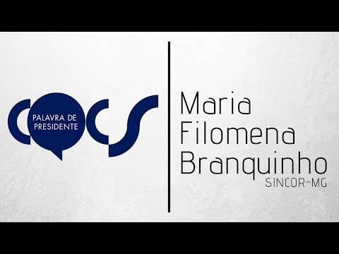 Imagem post: Maria Filomena Branquinho – Sincor-MG