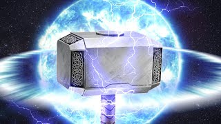How Much Does Thor's Hammer Weigh?