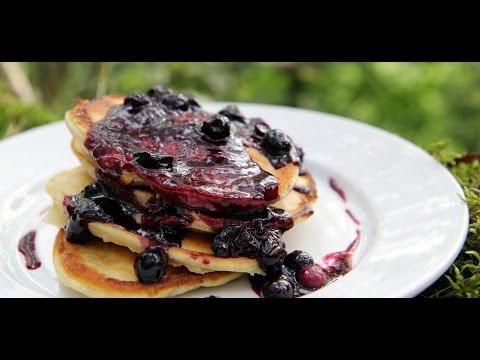 Amerykańskie Pancake z Borówkami
