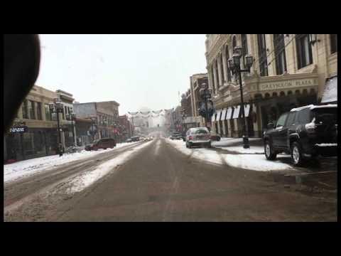 ZeroBelowZero - Snowy Commute to Aerostich 01/25/2016