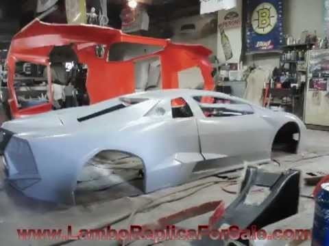 Lamborghini Reventon Replica Kit Car Project Mold Is