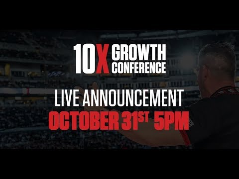 10X Growth Conference LIVE ANNOUNCEMENT at 5PM EST photo