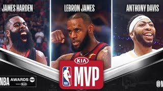 2018 NBA Season Award Winners! MVP, ROY, DPOY, COTY!