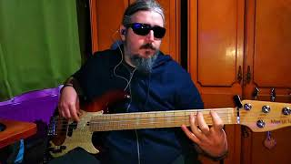 Henry mancini - The pink panther - Bass Cover