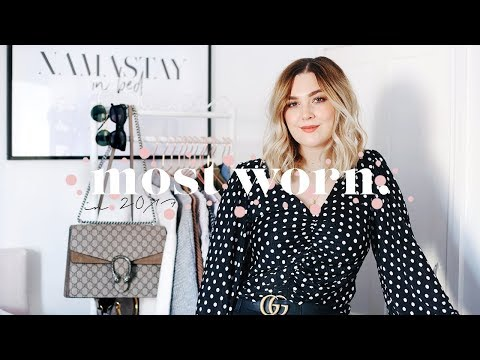 MOST WORN ITEMS IN MY WARDROBE IN 2017 | I Covet Thee