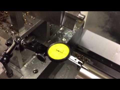 Test Bar Inspection After Taper Grind