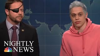 Dan Crenshaw Lends Helping Hand To Pete Davidson | NBC Nightly News