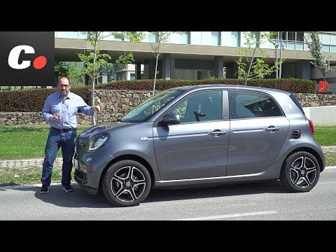 smart EQ forfour (smart electric drive) | Prueba / Test / Review en español | coches.net