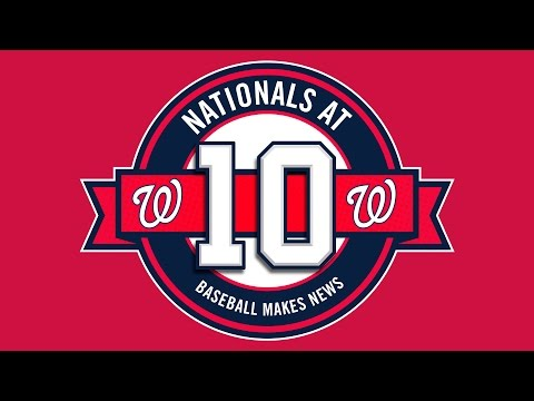 "In partnership with the Washington Nationals, the Newseum presents a new exhibit spotlighting 10 memorable media moments of the team's first decade in the nation's capital. ""Nationals at 10: Baseball Makes News"" brings back memories of some of the most unforgettable moments in Nationals history and explores how the press covers the team's newsworthy events on and off the field. ""Nationals at 10"" opens July 31, 2015."
