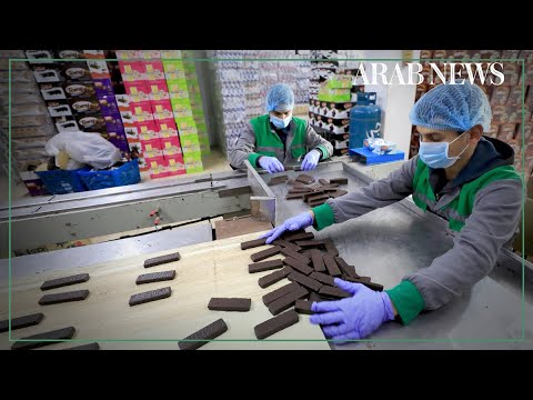 Gazans delight in home-produced chocolate goods