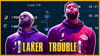 The Lakers Are In TROUBLE...For Now - Barbershop talk (Episode 89)
