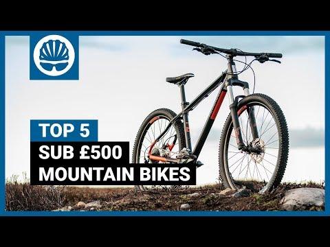 Top 5 |  Best Mountain Bikes Under £500