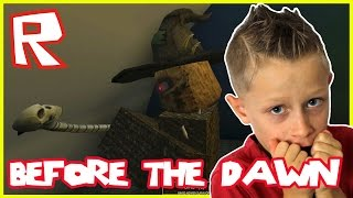 Before the Dawn - SCARY NIGHT / Roblox with GamerGirl karinaOMG