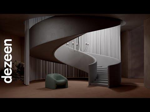 "Paul Cocksedge's chandelier for Moooi is ""shaped by gravity"" | Dezeen"