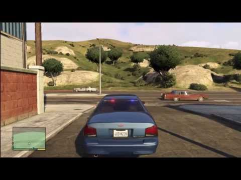 VIDEO: Grand Theft Auto 5 - How to get the RARE unmarked police car GTA V