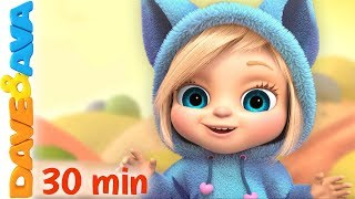 🍉 Baby Videos   Cartoon   Nursery Rhymes by Dave and Ava 🍉