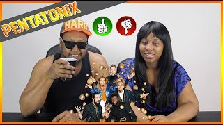 PENTATONIX - New Rules x Are You That Somebody (OFFICIAL MUSIC VIDEO)  REACTION!!