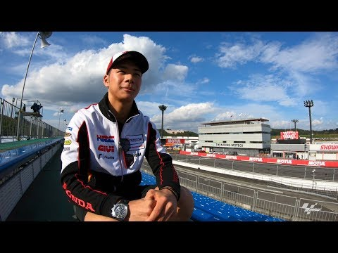 Go behind the scenes with Nakagami and GoPro?