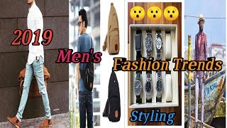Men's Fashion Trends 2019 / How To Improve Your Style / Latest Fashion Trends.