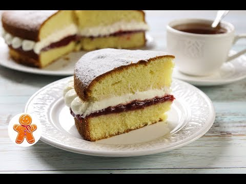 Торт Бисквит Королевы Виктории ✧ Victoria Sandwich Cake