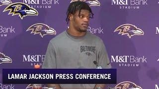 Lamar Jackson Talks Playoff Loss   Baltimore Ravens