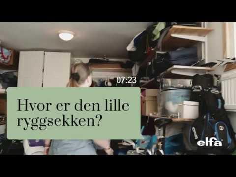 Elfa - Ryddig garasje - Ryggsekken
