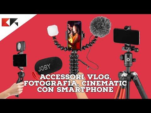 Migliori accessori e microfoni VLOG, FOT …