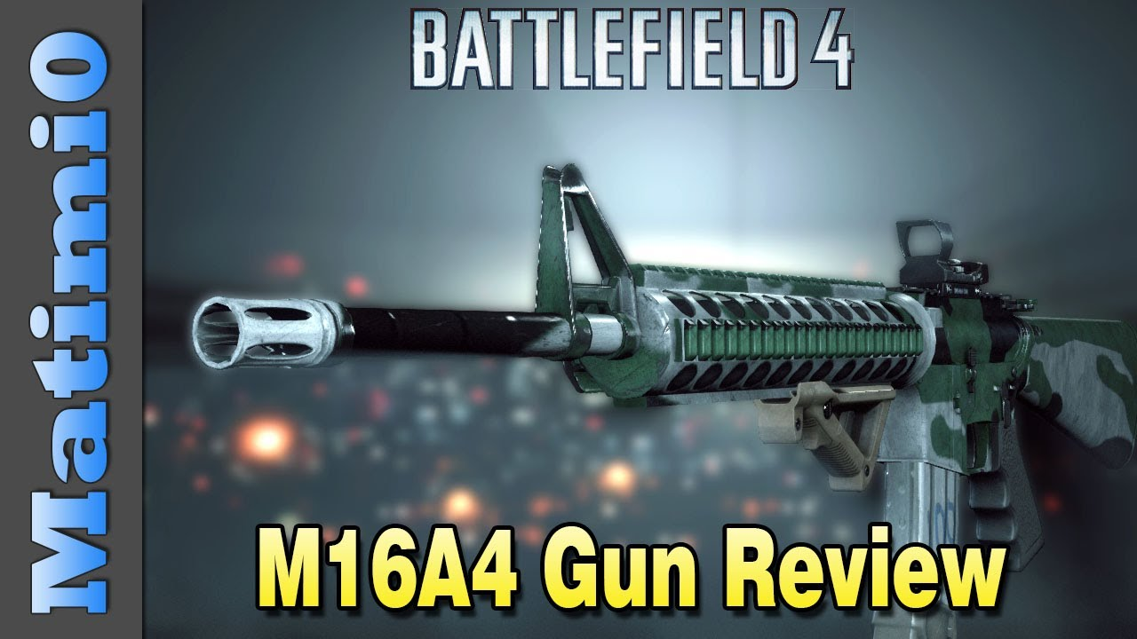 M16A4 Weapon Review - Skilled Killer - Battlefield 4 - YouTube M16a4 Bf3