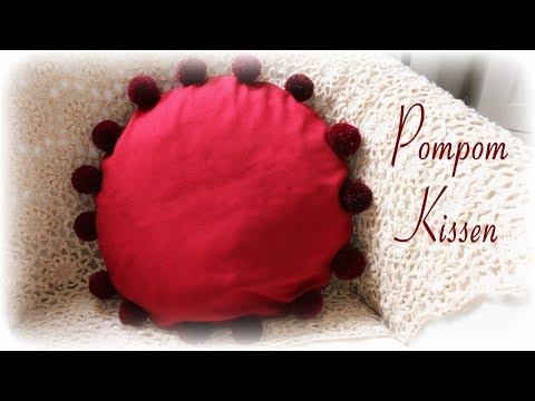 Pompom Kissen * DIY * Pom Pom Pillow