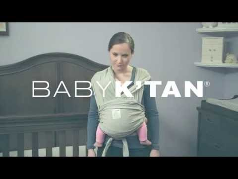 Baby K'tan Hug Position Instructions