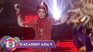 MANTAP!! Lenggak Lenggok NABILA Bawakan 'BALI TERSENYUM' | DA Asia 4