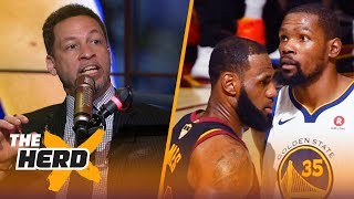 Chris Broussard on why LeBron joining the Golden State Warriors would ruin the NBA | NBA | THE HERD