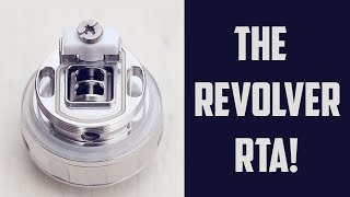Inside Adjustable Airflow Baby! The Revolver RTA!