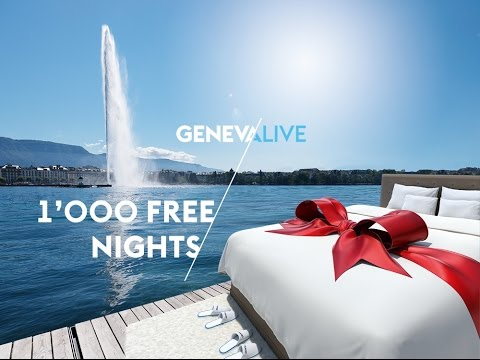 You are invited to Geneva, Switzerland – Take your chance now!