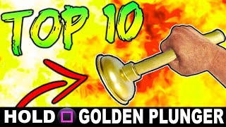 TOP 10 ZOMBIES EASTER EGGS!! (Side)   Call of Duty: Zombies