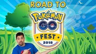 ¡Camino al Pokémon GO Fest 2018! Road to Chicago! ZAPDOS SHINY DAY! [Keibron] - YouTube