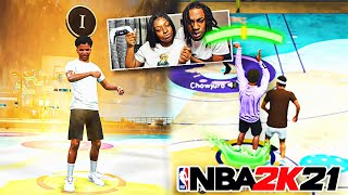 I PLAYED NBA 2k21 W/ My GIRLFRIEND AGAIN... WE WERE UNSTOPPABLE