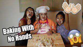BAKING WITH NO HANDS! | Lauren Godwin