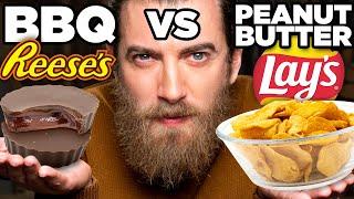BBQ Peanut Butter Food vs. Peanut Butter BBQ Food Taste Test