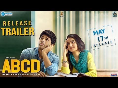 ABCD- American Born Confused Desi Release Trailer- Allu Sirish, Rukshar