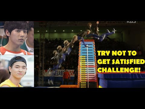 [EM-T] MOMENTS KPOP IDOLS CAN EASILY JUMP OVER YOU (High jump & Vault jump Compilation) (BOY VER.)